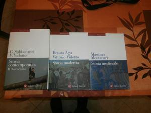 Storia medievale, moderna e contemporanea