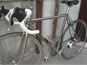 Bici da corsa telaio acciaio Columbus Campagnolo