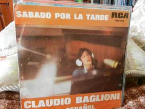Claudio baglioni canta in spagnolo 2. 45 giri