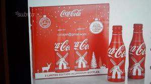 Coca Cola box 2 bottiglie alluminio Olanda