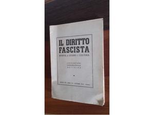 Il diritto fascista rivista di studio e cultura