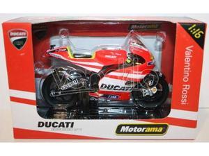 MOTORAMA  - MOTO GP DUCATI V.ROSSI  SCALA 1:16