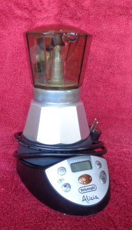 Caffettiera elettrica DeLonghi alicia electronic
