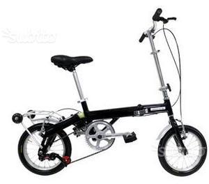 """ROUTE 66 Bici pieghevole Easy 14"""""""