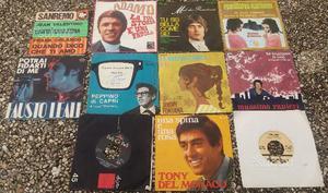 11 dischi 45 giri anni  con copertine