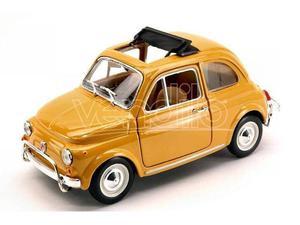 Bburago BUY FIAT 500 L  YELLOW 1:24 Modellino
