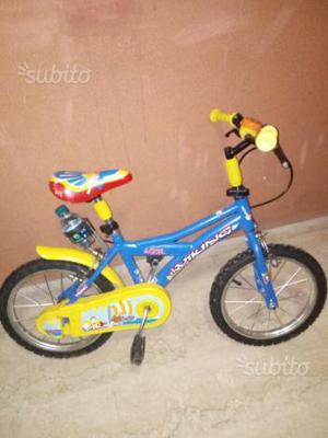Bici per bimbo dai 3 ai 6 anni