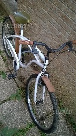 Bicicletta alluminio bici city fausto coppi