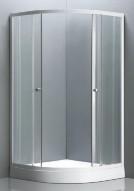 Box doccia semicircolare IBIZA WHITE - Ferramenta Cardelli