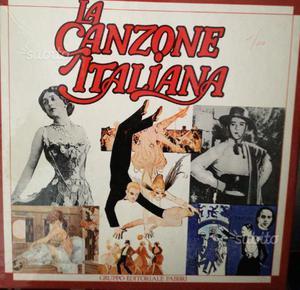 """Cofanetto """"La canzone italiana"""""""