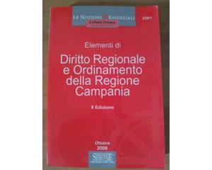 Elementi di diritto regionale e ordinamento della campania