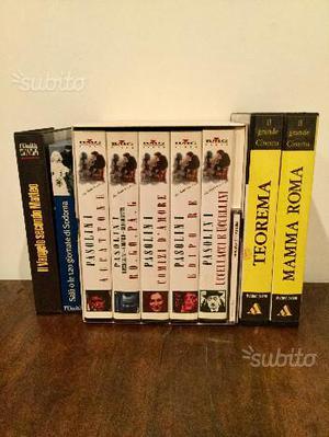 Grandi Film Pasolini Originali e Nuovi