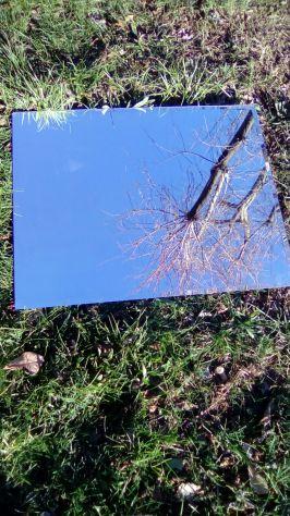 Specchio in Vetro Molato 75x60