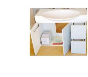 lillangen mobile bagno contenitore a specchio posot class