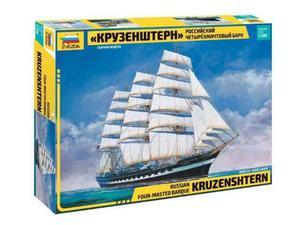 Zvezda Z KRUSENSTERN SAILING SHIP KIT  Modellino