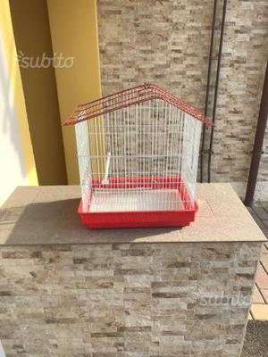 Gabbia per canarini e pappagalli
