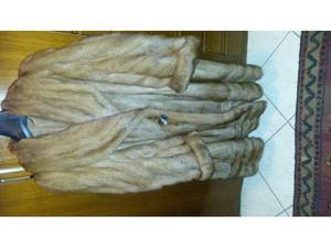 Pelliccia lunga visone selvaggio taglia 48
