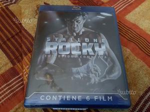 Rocky collezione completa in blu-ray nuovo