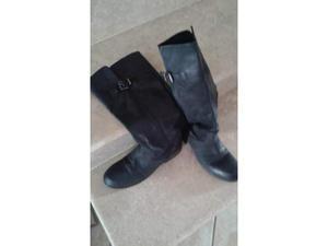Stivali per donna vera pelle calzari 2/3volte nr38