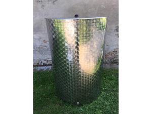 Contenitore acciaio inox  LT per olio o vino