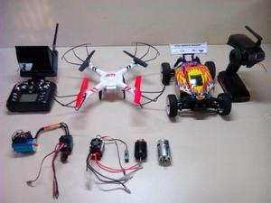 Drone buggy 1/16 motori elettrici