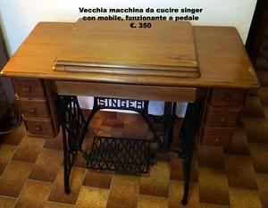 Macchina da cucire originale singer posot class for Pedale macchina da cucire singer