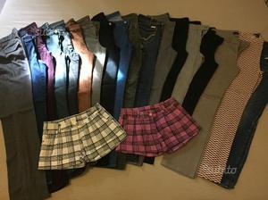 Stock pantaloni donna