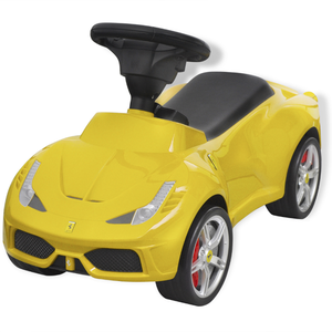 vidaXL Macchina Cavalcabile Ferrari 458 Gialla