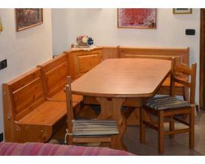 Arredamenti rustici: Giropanca tavolo e sedie prezzo