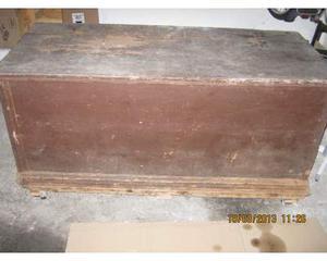 Cassapanca antica, primi ' 900