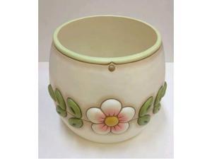 Coprivaso in ceramica thun medio linea fiore