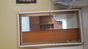 N.2 ante con specchio e cornice per armadio a muro