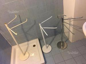 Porta Asciugamani Bagno Da Terra : Porta asciugamano bagno posot class