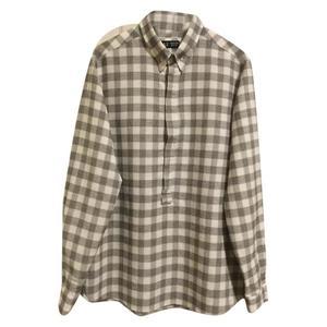camicia in lino e viscosa