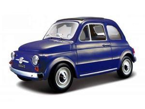 Bburago BUBL FIAT 500 F  BLUE 1:24 Modellino