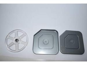 Bobina film 8mm Super 8mm con custodia