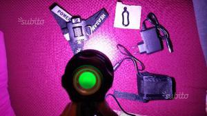 Lampada frontale 16 LED CREE sci alpinismo bici