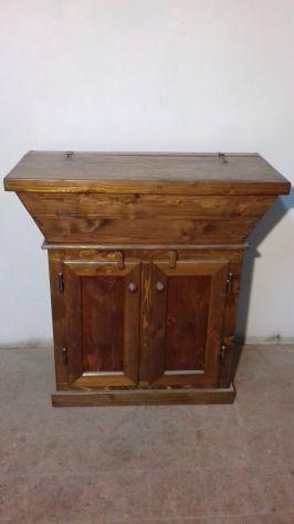 Madia toscana in legno di abete