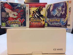 Nintento 3ds + pokemon rubino omega, y e luna