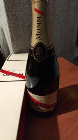 Vari tipi di spumante e champagne