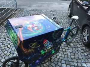 Bici da trasporto Bullitt Spacebug