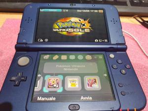 New nintendo 3ds xl + giochi pokemon
