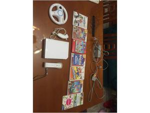 Nintendo Wii+6 Giochi+Accessori