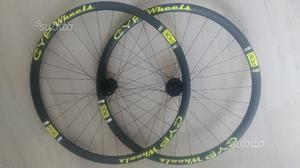 Ruote in carbonio Cyp Wheels per freni a disco