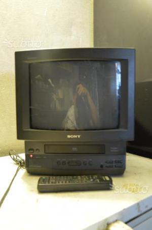 Video cassette + tv