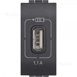 BTicino LC1 - Nuova presa USB Living mA 5V