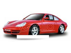 Bburago BUR PORSCHE 911 CARRERA  RED 1:24 Modellino