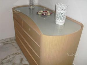 Camera da letto in vero legno MADE IN ITALY