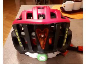 Caschi x bici da corsa con luce led posteriore