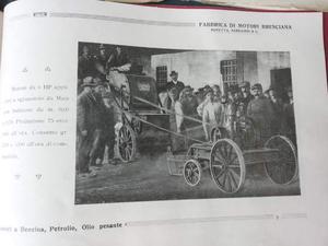 Cataloghi Antichi Depliants Motori Pubblicitari Turistici